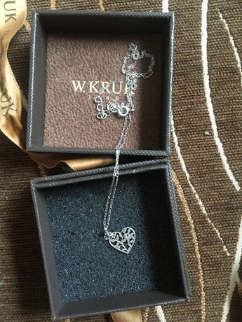 Naszyjnik srebrny oryginalny firmy kruk