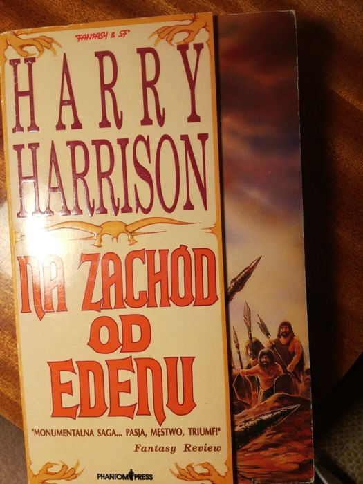 """Harry Harrison """"Na zachód od edenu"""" Wrocław - image 1"""