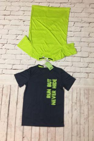 Набор футболок 2 шт для мальчика рост 134/140 CRANE