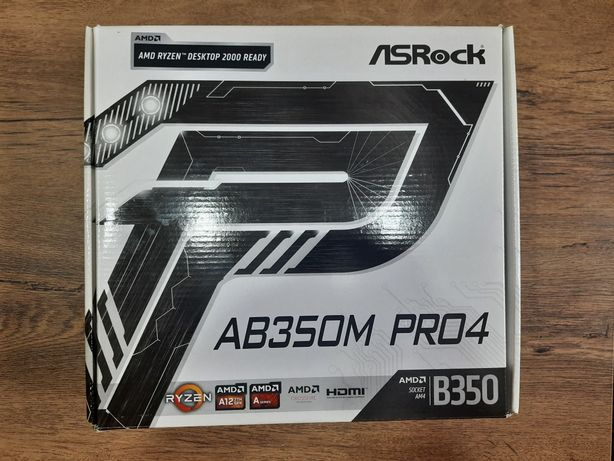 Материнская плата AsRock AB350M Pro4 AM4