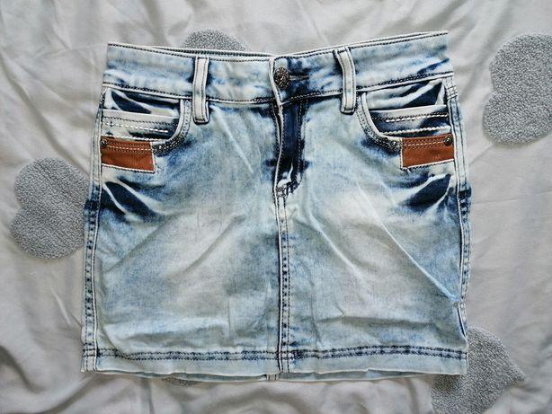 Продам детскую джинсовую юбку