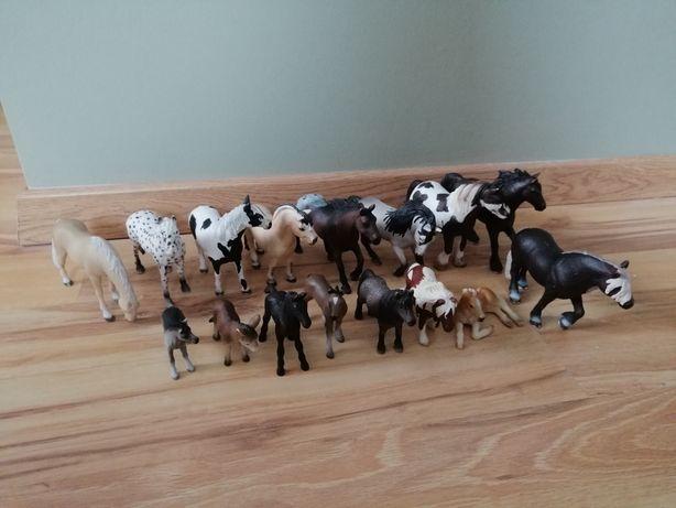 Figurki schleich konie, kuce, osiołek