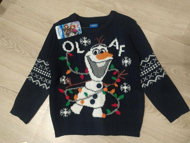 новогодний свитер 3-4 года Дисней