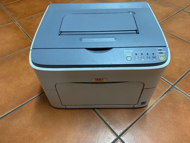 Impressora laser Oki C110 cores