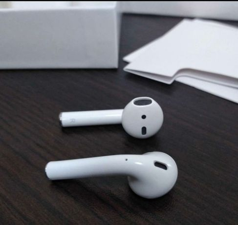  Вкладыши/Apple AirPods 2/Распечатанные/ Новые /Оригинал/USA