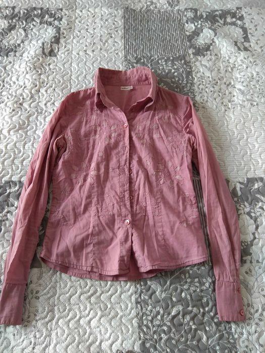 Młodzieżowa koszula w odcieniu fioletu Opole - image 1