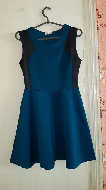 Плаття бірюзово-синє