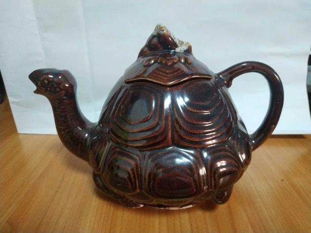 Чайник керамика Черепаха на 1 литр