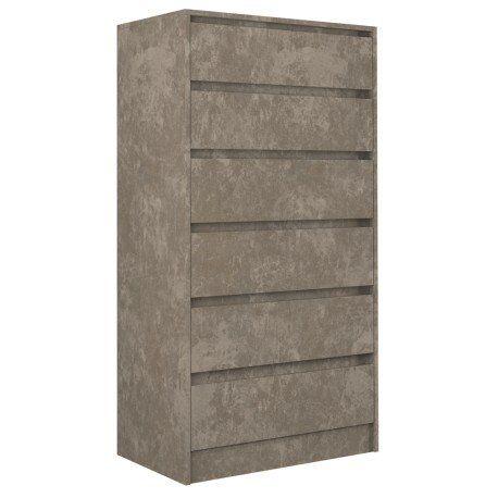 MALVINE 6M – komoda beton komoda z szufladami - DOWÓZ GRATIS