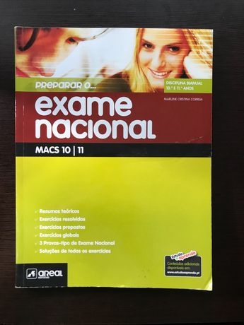 Preparação Exame Nacional MACS 10 e 11