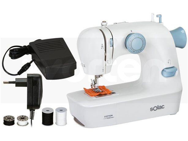 Máquina de Costura SOLAC Cotton 12.0 SW8220 (12 pontos)