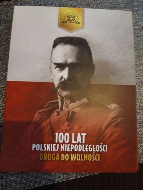 Sprzedam monety 100 lat niepodleglosci  polski