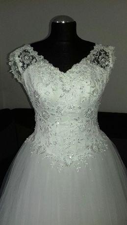 Suknia Ślubna White Lady Księżniczka !