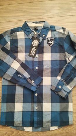 Nowa koszula dla chłopca rozmiar 128