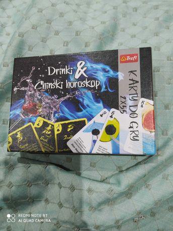 Karty Drinki & chinski horoskop nowe
