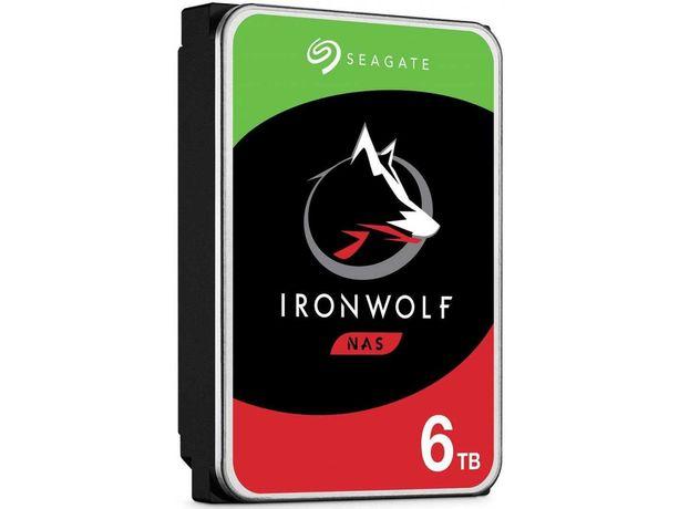 HDD Жесткий диск Seagate IronWolf 6TB NAS