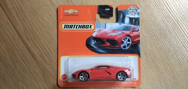 Matchbox Hot Wheels Chevrolet Corvette C8