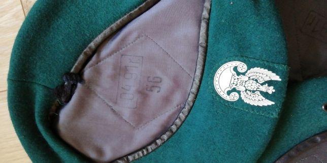 beret czarny lub zielony r.56