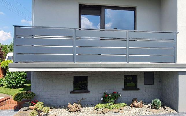 Ogrodzenia panelowe, balustrady balkonowe nierdzewne, ogrodzenia metal