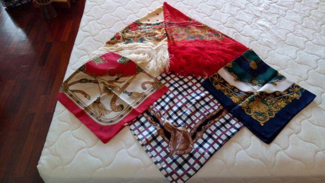 Cinco lenços
