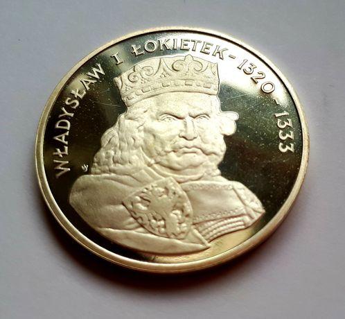 500zł Władysław I Łokietek 1986 srebro