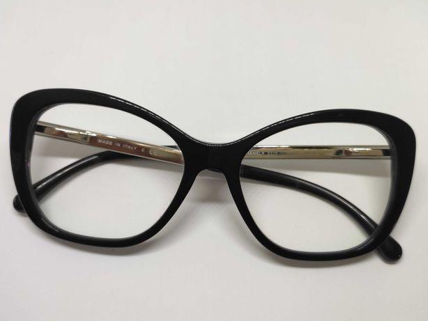 Óculos graduados Chanel 3328H pretos madre pérola