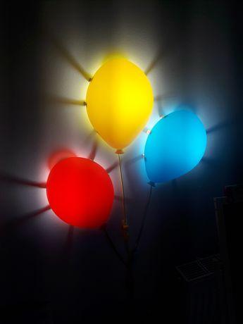 Lampki nocne baloniki IKEA