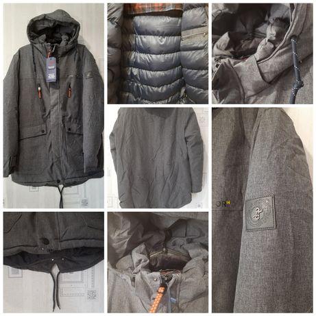 Куртка парка батал