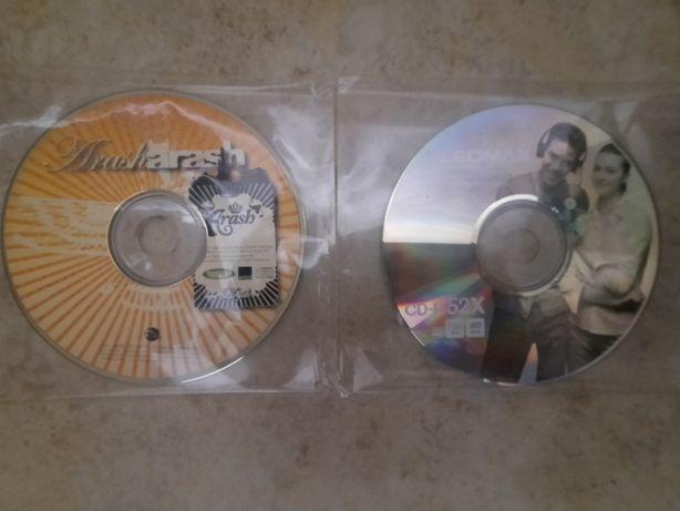 Компакт диски лотом CD танцевальная электронная музыка Arash techhouse