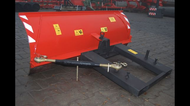 Plug do śniegu do wózka widłowego 150 cm guma na widły widlak szufla