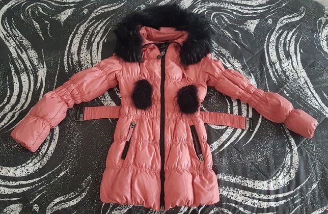 Пуховик 36-38 (S-M)р. Зимняя куртка