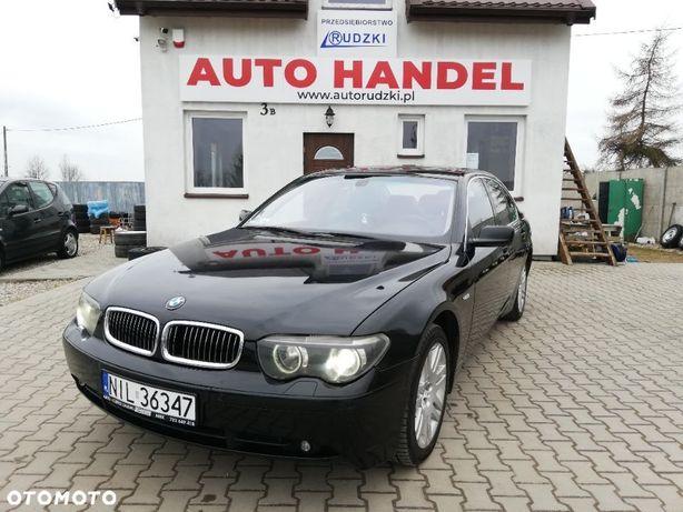 BMW Seria 7 E65, 4.4 benzyna 333km, 2003r. Stan bardzo dobry! Zamiana!