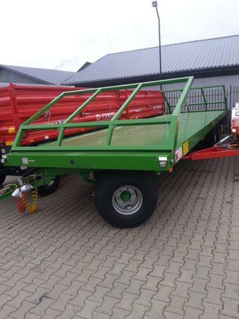 Przyczepa Pronar T026 Platforma Do Bel Trzyosiowa 13,7 Ton T026M