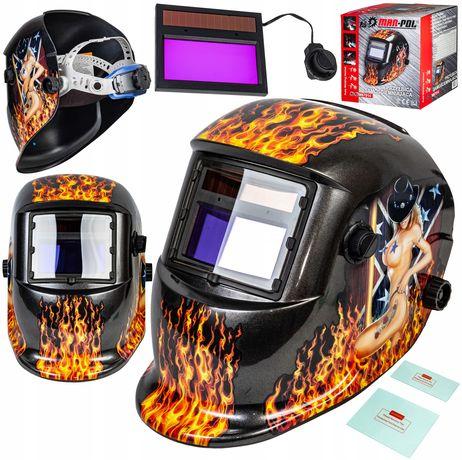 Maska spawalnicza przyłbica samościemniająca flame (SPA30)