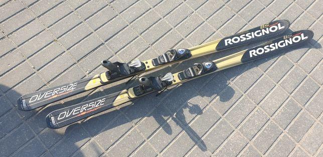 Narty rossignol oversize 8S 170cm wiazania power 100