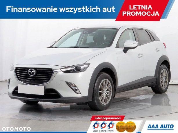 Mazda CX-3 2.0 16V, Salon Polska, 1. Właściciel, Serwis ASO, Navi, Klimatronic,