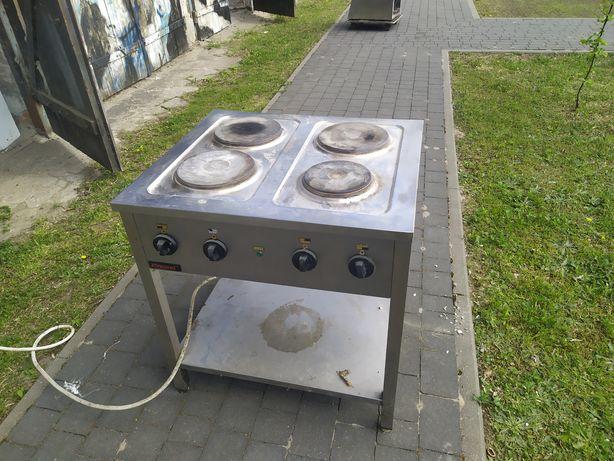 Kuchenka Kromet 4 palniki elektryczna