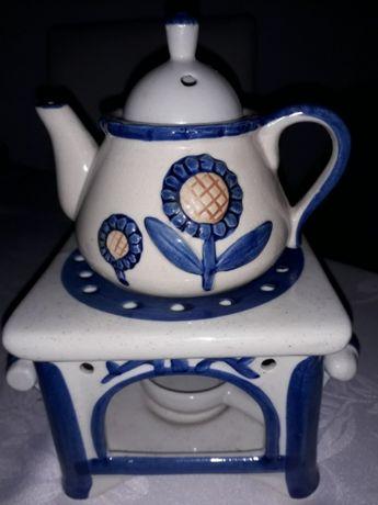 Porcelanowy zaparzacz do herbaty