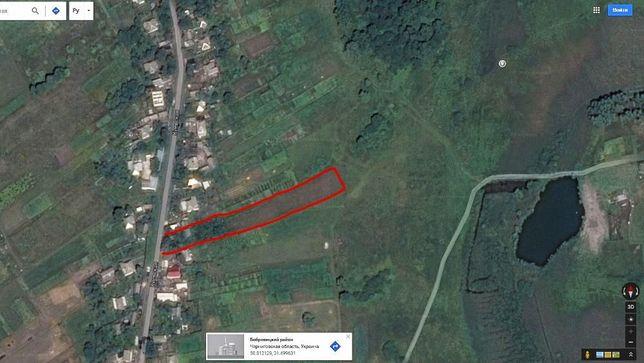 Участок 25 соток Кобыжча Бобровицкого района Черниговской области