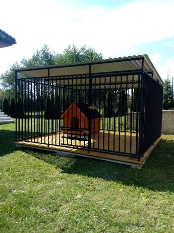 Kojec dla psa klatka box zagroda legowisko