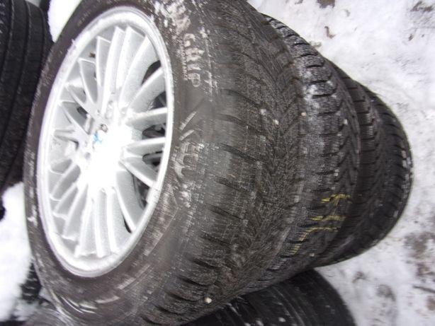 koła zimowe BMW X3 215/60/17 Dunlop, 2017r 5x120