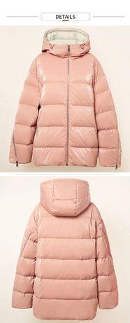 Зимняя куртка на пуху 48 - 50р.