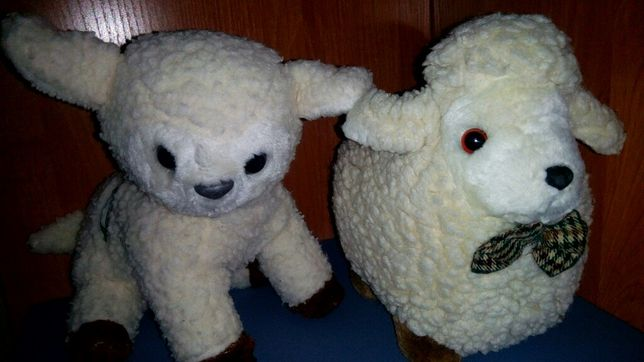 Ферма животные барашек и овечка