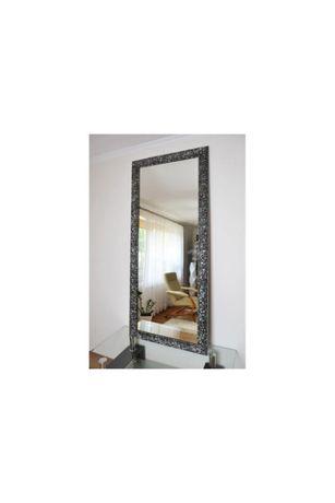 Duże grafitowe lustro 8002 Glamour 70x190cm, wysoki połysk