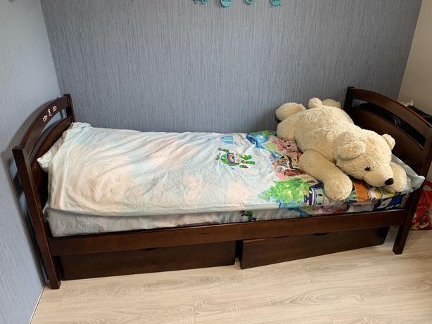Детская подростковая кровать 190*80 с новым матрасом