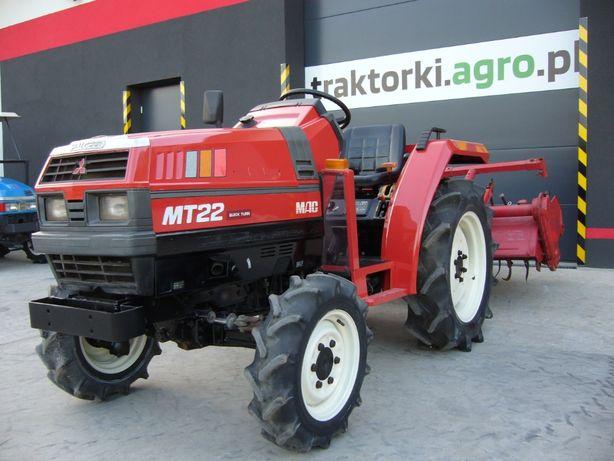 Traktorek , Ciągnik ogrodniczy MITSUBISHI MT22 , 22KM Import z Japonii