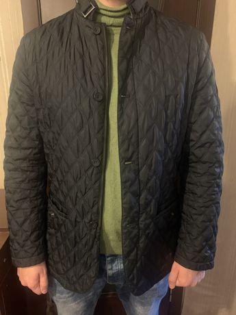 Мужская стеганная куртка xl в стиле zara,gap,h&m