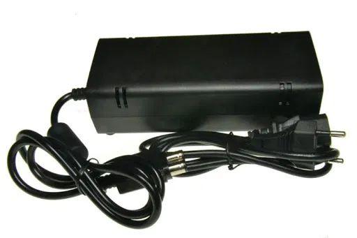 zasilacz konsoli Xbox 360 slim 135W Xbox360 Microsoft podwójna końcówk