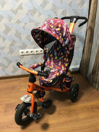 Детский трехколесный велосипед Tilly Trike T-351-3, Оранжевого цвета