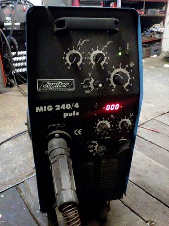 Migomat Półautomat Spawarka Jupiter mig240/4 puls 4x4 240A Aluminium